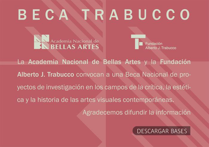 Flyer BECA TRABUCCO 2014