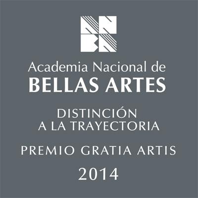 Premio Gratia Artis y Distinción a la trayectoria