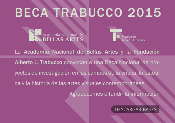 Beca Trabucco 2015 | ANBA