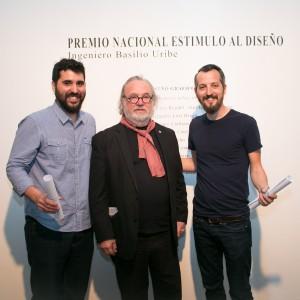 Juan Emilio Lemos, Ricardo Blanco y Dan Waisman