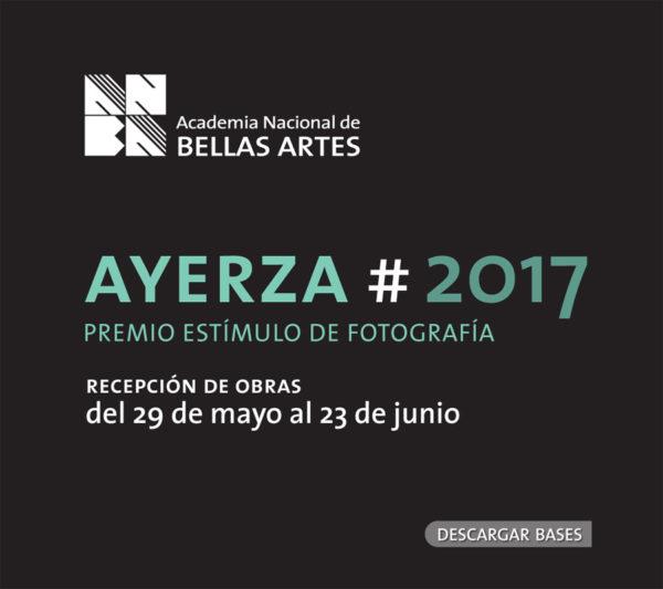 Premio Estímulo de Fotografía Francisco Ayerza 2017 | ANBA