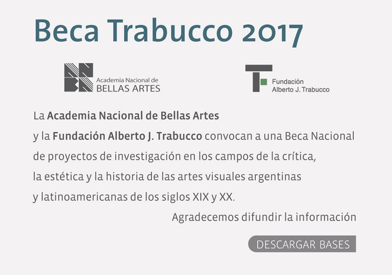 Beca Trabucco 2017 | ANBA