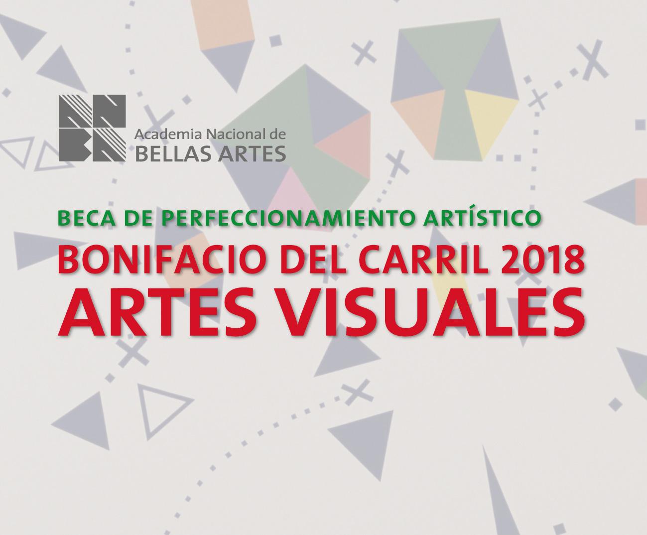 Beca Bonifacio del Carril 2018 | ANBA