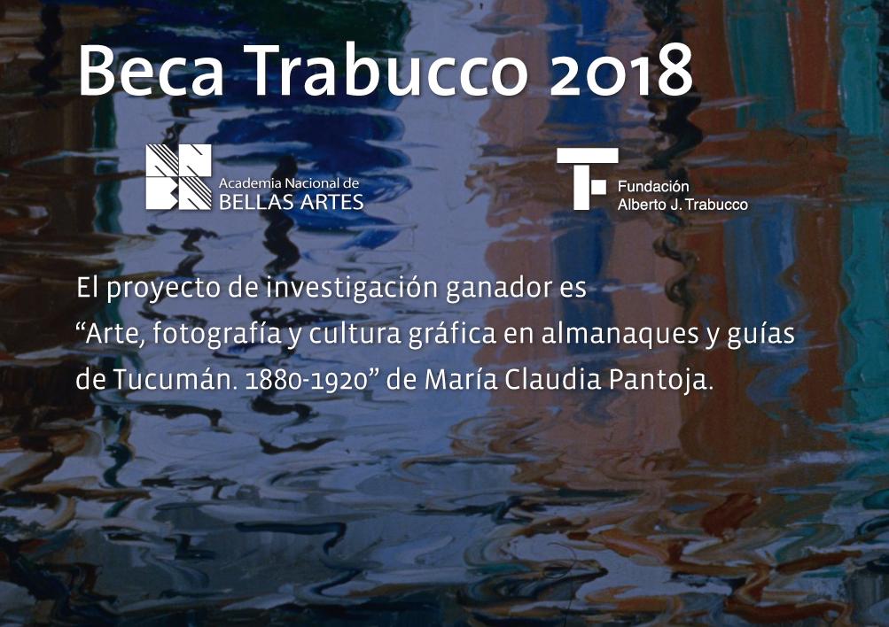 Beca Alberto J. Trabucco 2018 | ANBA