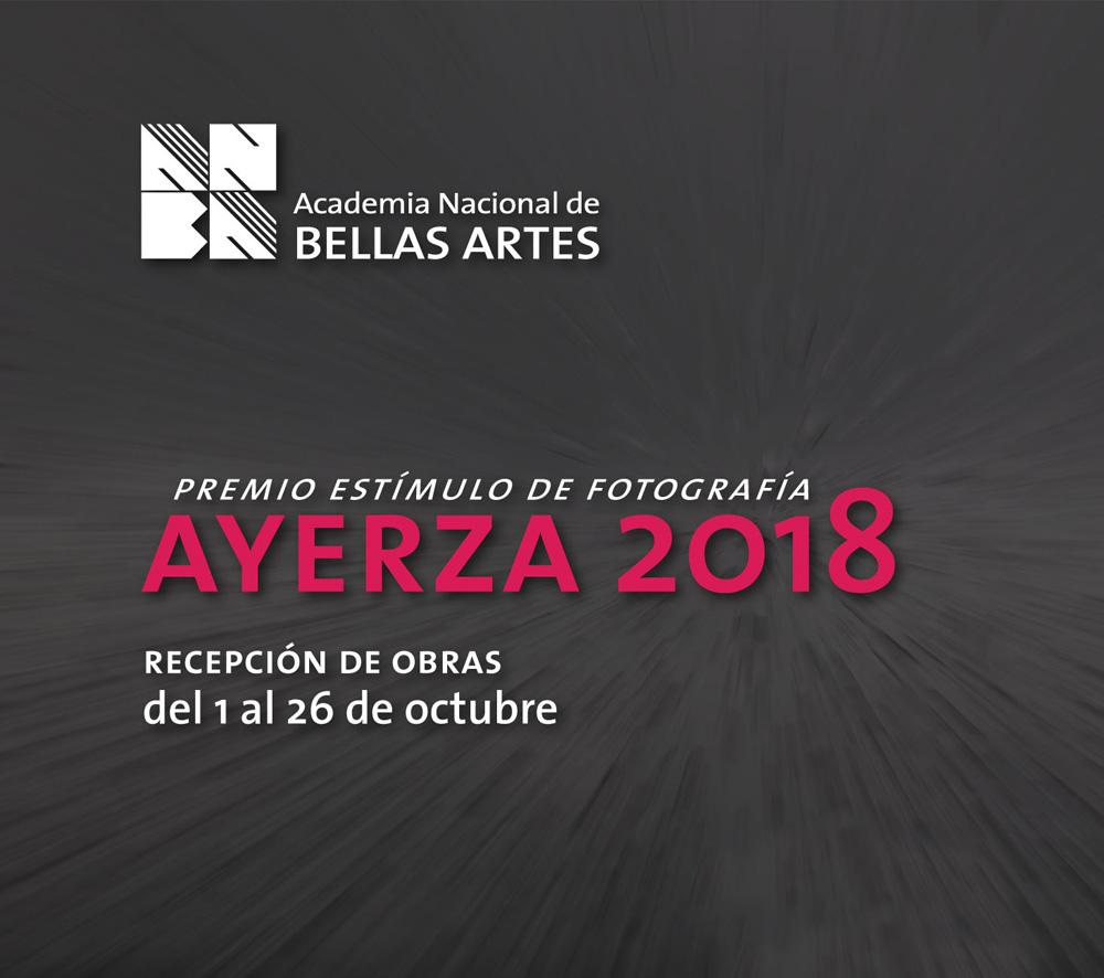 Premio Estímulo de Fotografía Francisco Ayerza 2018 | ANBA