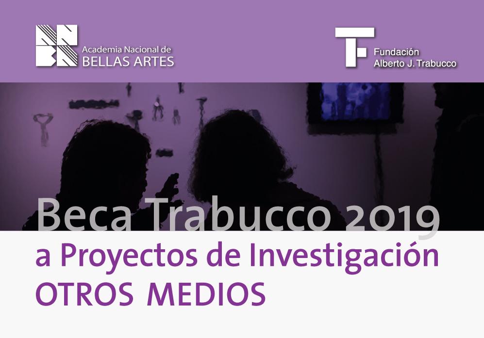 Ganadora de la Beca Trabucco 2019 | ANBA