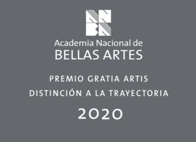 Premios Gratia Artis y Distinción a la trayectoria 2020 | ANBA