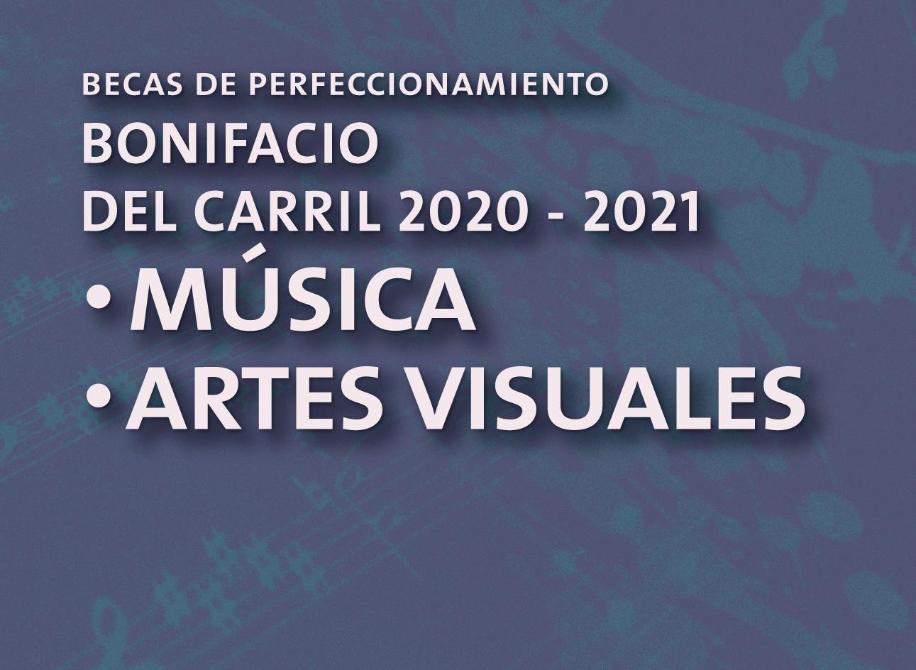 Becas Bonifacio del Carril 2020 – 2021 | ANBA